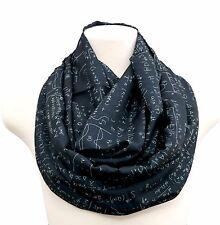 Math infinity scarf calculus birthday gift for her anniversary present nerd geek
