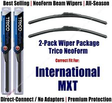 2pk Super-Premium NeoForm Wipers fit 2007-2009 International MXT 16220x2