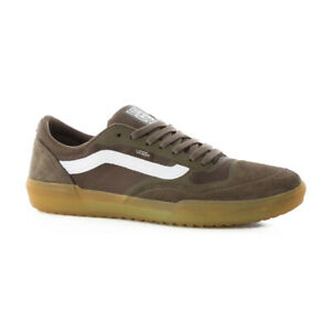 "Vans Off The Wall ""Ave Pro"" Sneakers (Canteen/Gum) Skate Shoes"