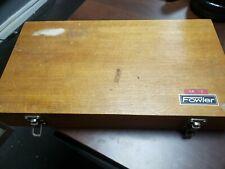 Fowler DIN 861 I  Gauge Blocks CNC Engineering Tool Metric