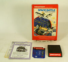 Vintage Boxed Intellivision Game Space Battle Tested & Working