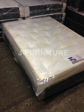 4ft Small Double Divan Luxury Orthopaedic Firm 25cm Mattress Clearance