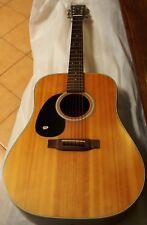 Left Handed K. YAIRI W1 Acoustic Guitar. USED
