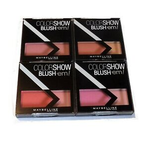 Maybelline Color Show Blush 'Em Blusher Duo Pick A Shade Pink Peach Coral