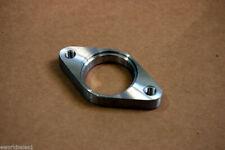 1x Stainless Steel 2 bolt 35mm 38mm External Wastegate Flange SS NO THREADS