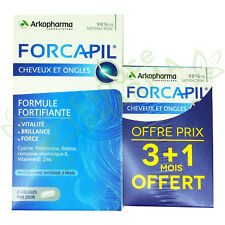 Arkopharma Forcapil Hair and Nails Intensive Program 240 Capsules 4 months