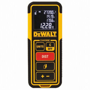 DEWALT DW099E 99 FT Laser Distance Measure /Range Finder (30m)