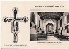 P2802   Pesaro  MERCATELLO sul METAURO   Chiesa di S.Francesco