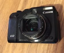 Canon PowerShot G12 Digital Camera 10 MP W5x Optical Zoom