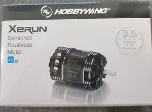 HOBBYWING XERUN  SENSORED V10 G3 BRUSHLESS MODIFIED.RACE MOTOR 3.5T
