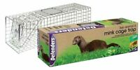 Medium Humane Animal Trap Cage Catcher Indoor Outdoor Live Rodent Pest Weasel
