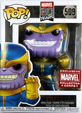 Funko POP! Marvel ~ THANOS FIGURE ~ MARVEL COLLECTOR CORPS EXCLUSIVE (#509)