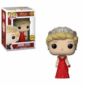 "CHASE DIANA PRINCESS OF WALES 3.75"" POP ROYALS VINYL FIGURE FUNKO BRAND NEW 03"