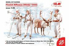 ICM 35566 1/35 Finnish Riflemen (Winter 1940)
