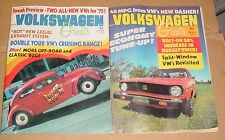 2 1974 Volkswagen Greats Magazines