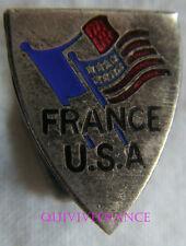 IP822 - INSIGNE  ASSOCIATION FRANCE-USA - anticommunisme