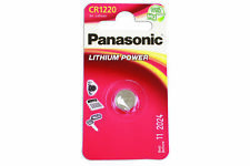 Panasonic Coin Cell Battery Cr1220 Card Of 1 Connect 36910