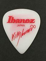 New Guitar Pick IBANEZ 1000KL-WH Kiko Loureiro WHITE from JAPAN