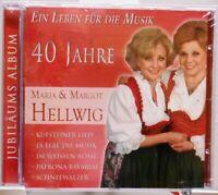 Maria und Margot Hellwig + CD + 40 Jahre + Ein Leben für die Musik + Größte Hits