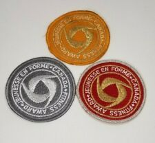 CANADA FITNESS AWARDS of EXCELLENCE  Badges Gold Silver Bronze Set of 3