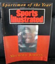 Michael Jordan Sports Illustrated Sportsman Of The Year Dec. 23, 1991 Hologram.