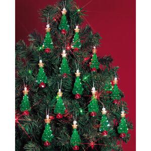 """Beadery Holiday Beaded Ornament Kit-Mini Trees 2.25"""" Makes 24"""