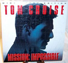 """Paramount widescreen laserdisc - """"Mission: Impossible"""" - Tom Cruise"""