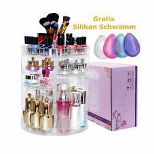 Kristall Make Up Organizer 360° drehbar, Kosmetik Organizer aus Acryl,