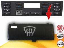 BMW E39 X5 E53 A/C Panel de control de aire acondicionado - Botón Antivaho Frent