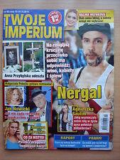 TWOJE IMPERIUM 42/2014 NERGAL,Anna Przybylska,Charlie Sheen,Gillian Anderson