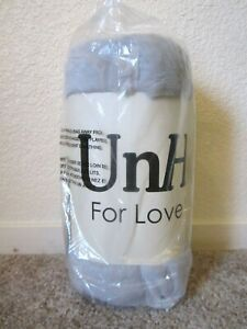 """UnHide For Love Not Fur Lil' Marshmallow silver blanket 50"""" x 60"""" sealed"""