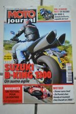 MOTO JOURNAL 1772 SUZUKI SV 1000 S GSX 1300 B-King; Thierry FLOQUET 2007