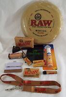 RAW Brand Set 12 Piece Set Disc Paper Rolling Machine Tips Lighter Bag Ozium #4