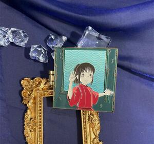 Spirited Away Nigihayami Kohakunushi Chihiro Metal Badge Brooch Pin Limited N