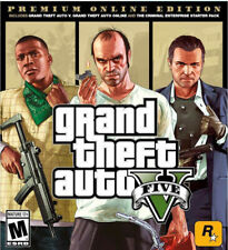 Grand Theft Auto V Premium Online Edition (Sony PlayStation 4, 2018) (Disc Only)