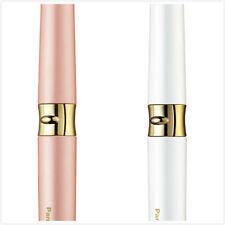 Panasonic hot buurler eyelash curler 360 degree rotation comb White/Gold