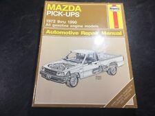 1972-1990 Mazda Pickup Truck B1800 B2000 B2200 B2600 Haynes Shop Manual 4x4 2WD