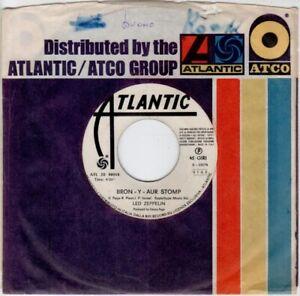 45 giri JB Led Zeppelin / Bron Y Aur Stomp - Immigrant Song
