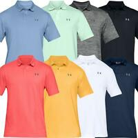 UNDER ARMOUR UA PERFORMANCE MENS GOLF POLO SHIRT 2.0 SMOOTH STRETCH
