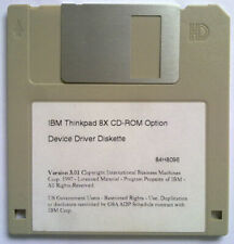 IBM Thinkpad 8X CD-ROM Option DEvice Driver Diskette
