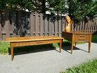 Mid-Century Modern Kent Coffey Style Coffee Side End Table Set Matching Pair MCM