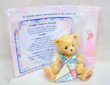 "Enesco Cherished Teddies 1993 ""Friendship Is In The Air"" March Bear #914770"