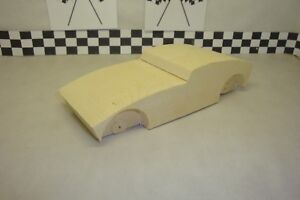 Pinewood Derby Pre-cut, #132-RT, Challenger  What A Cool Derby Car!