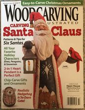Wood Carving Santa Claus Patterns Tips Holiday 2015 Scrollsaw work FREE SHIPPING