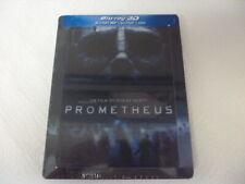 steelbook Prometheus Blu ray 3D+2D+ DVD édition Fr avec magnet lenticulaire