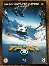 Samy Naceri Sylvester Stallone TAXI 3 | Luc Besson French Action Film  UK DVD