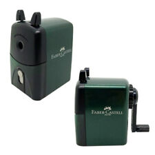 FABER-CASTELL Pencil Sharpener Stationery Green Color
