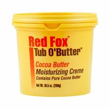 Red Fox Tub O' Butter Cocoa Moisturizing Creme 10.5 oz (Pack of... Free Shipping