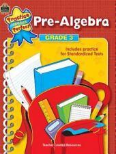 Pre-Algebra Grade 3 by Robert W. Smith (English) Paperback Book Free Shipping!