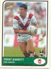 Trent Barrett Select NRL & Rugby League Trading Cards